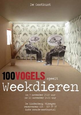 poster 100vogels